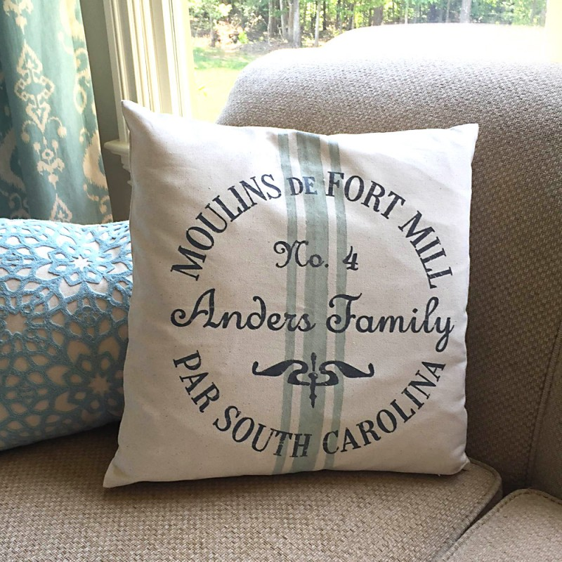 Custom Farmhouse Style Pillow Covers New Grain Sack Pillow Covers