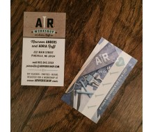 AR Workshop Promotional Merchandise - Business Card / Punch Card (2 x 3.5)