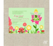 Fairy Garden Party Printable Invitation