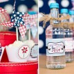 4th of July Pinwheels Printable Party Collection - Instant Download