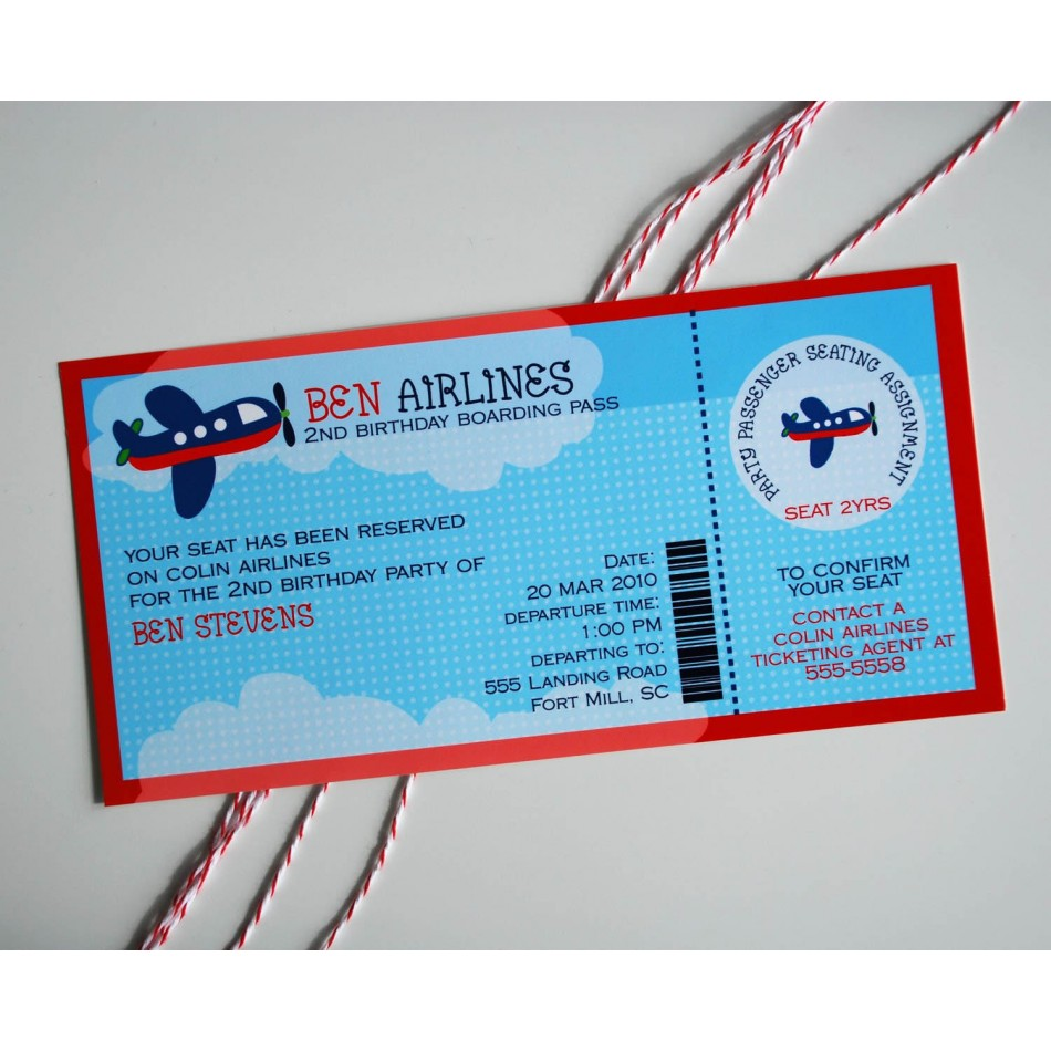 Airplane Birthday Invitations is the best ideas you have to choose for invitation example