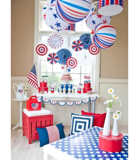All American 4th of July Printable Party Collection - Instant Download