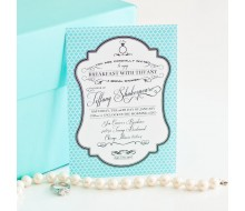 Breakfast at Tiffany's Inspired Printable Invitation - Bridal Shower