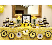Bumble Bee Day Birthday Party Printables Collection