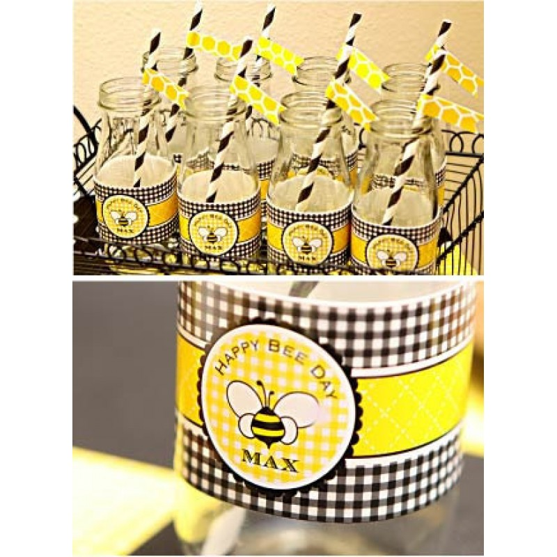 Bumble bee day birthday party printables collection filmwisefo