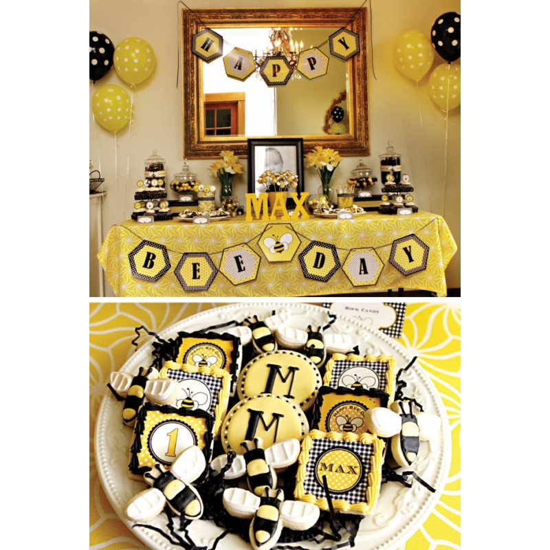Honey bee home decor stirs buzz beessential blog bumble for Honey bee decorations for your home