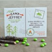 Camping Birthday Party Printable Invitation
