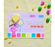 candy land inspired birthday party printable invitation