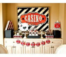 Casino Night Poker Party Printable Collection - Instant Download