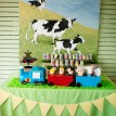 Choo Choo Goes to the Farm Birthday Party Printables Collection