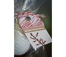 Holiday Berries Wood Grain Printable Hangtag Gift Tags