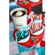 North Pole Christmas Printable Hot Chocolate Bar Set - Instant Download
