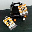 Classic Halloween Design Kit - Printable EDITABLE Name Tags - Instant Download