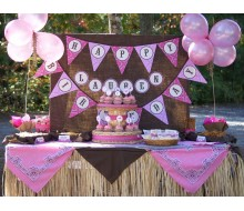 Cowgirl Birthday Party Printable Collection