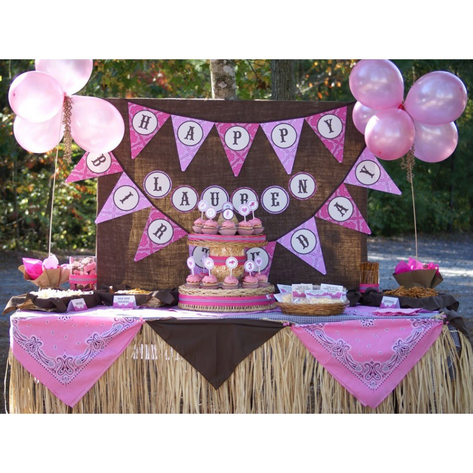 Western Decor For Birthday: Southern Blue Celebrations: COWBOY / COWGIRL PARTIES