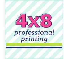 4x8 Prints - Professional Printing Service - Includes Envelopes - 2 Day UPS Shipping