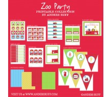 Dear Zoo Animals Birthday Party Printable Collection