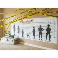 Detective Party Printable Criminal Lineup 42x125 Poster