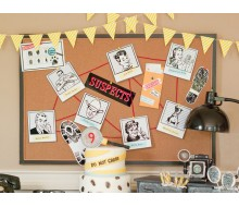 Detective Party Printable Suspects Poloroids - Instant Download