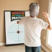 Detective Party Printable Target Training Sign - 36x48 - Instant Download