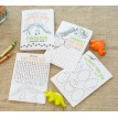 Dinosaur Birthday Party Printable Activity Coloring Book