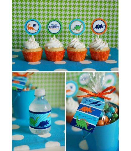 Dinosaur Birthday Party Printables Collection