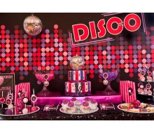 Disco Dance Party Printables Collection  - Pinks and Black