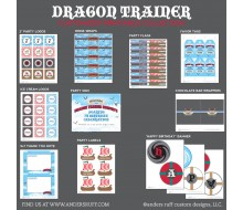 Dragon Trainer Nordic Printable Collection