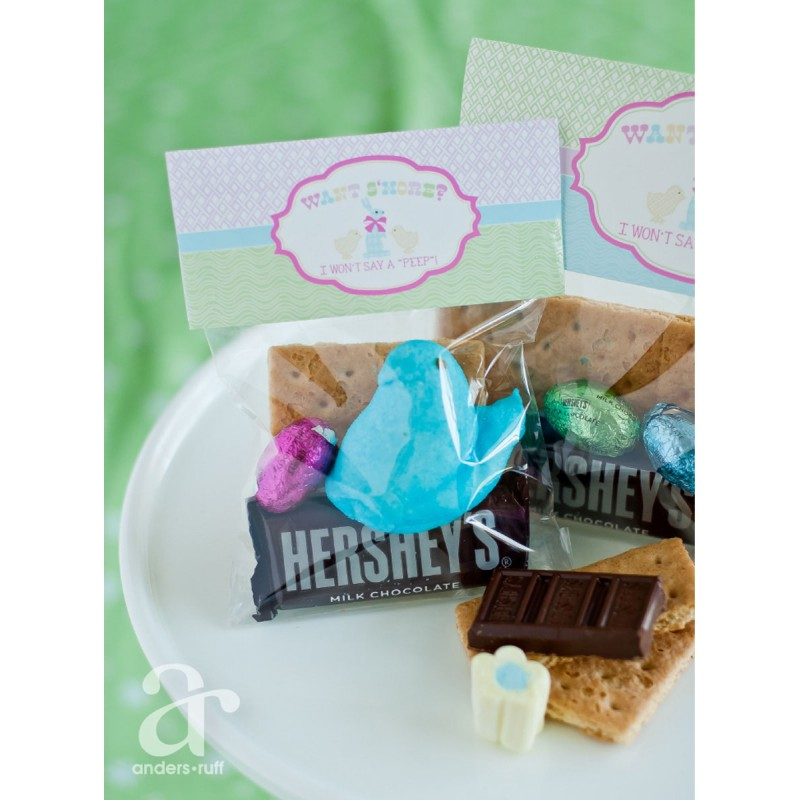 smores printable toppers | just b.CAUSE