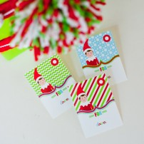 Magical Elf Printable Christmas Gift Tags - Instant Download