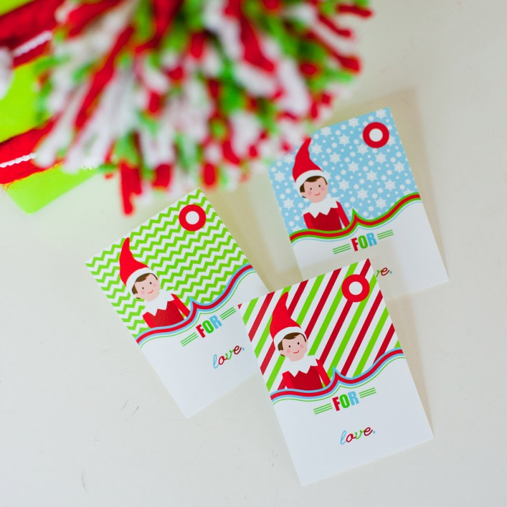 ELF Gift Tags Free Printable - Sunshine And Rainy Days  |Christmas Elf Tag