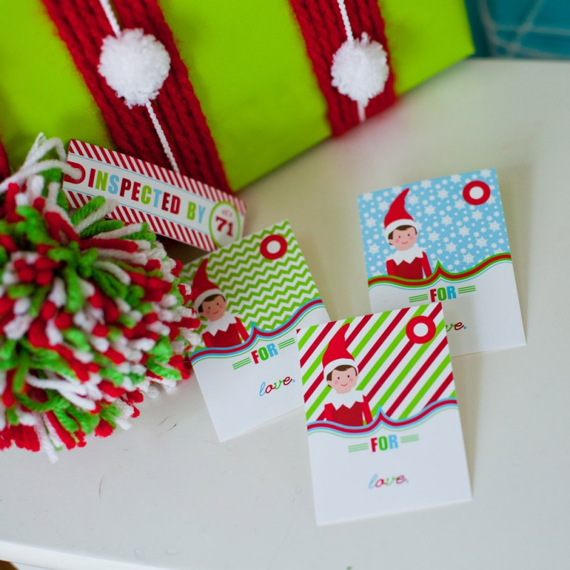 Popular items for elves with gifts on Etsy  |Christmas Elf Tag