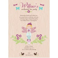 Enchanted Fairy Tea Party Printable Invitation