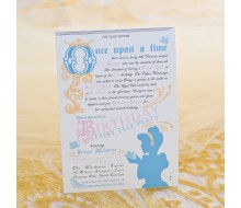 Fairy Tale Princess Printable Invitation