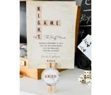Game Night Party Printable Invitation