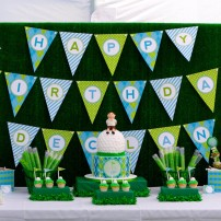 Preppy Golf Birthday Party Printables Collection