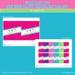 Gymnastics Tumbling Party Printable Chocolate Bar Wrappers