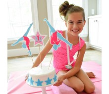 Gymnastics Tumbling Birthday Party Customized Cake Topper Set