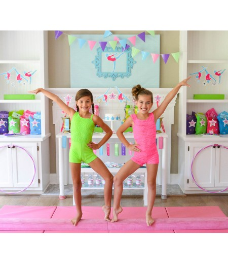 Gymnastics Tumbling Party Teen Tween Birthday Party Printable Collection