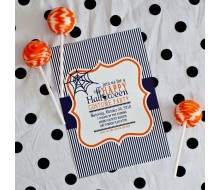 Happy Halloween Party Printable Invitation