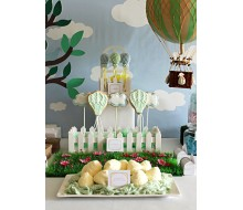 Hot Air Balloon Birthday Party Printable Collection