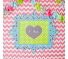 "Insta Party Teen Tween Heart Likes Printable Poster Sign - 16"" x 20"""