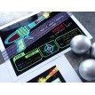 Laser Tag Black Neon Birthday Party Printable Invitation