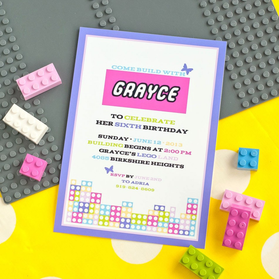 Minecraft Birthday Invitations Printable Free Futurecliminfo - Lego birthday invitation template free