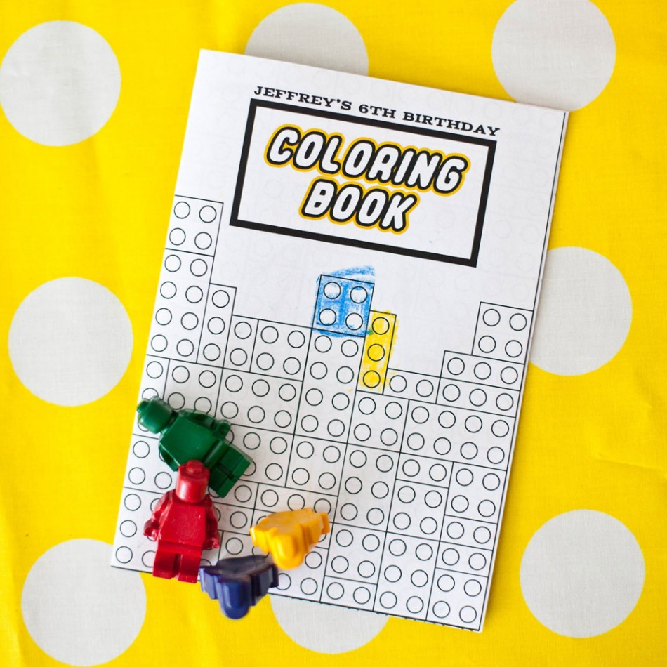 Lego coloring book printable -  Colouring Pages Lego Block Printable