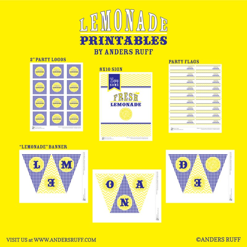 A Sample Lemonade Stand Business Plan Template