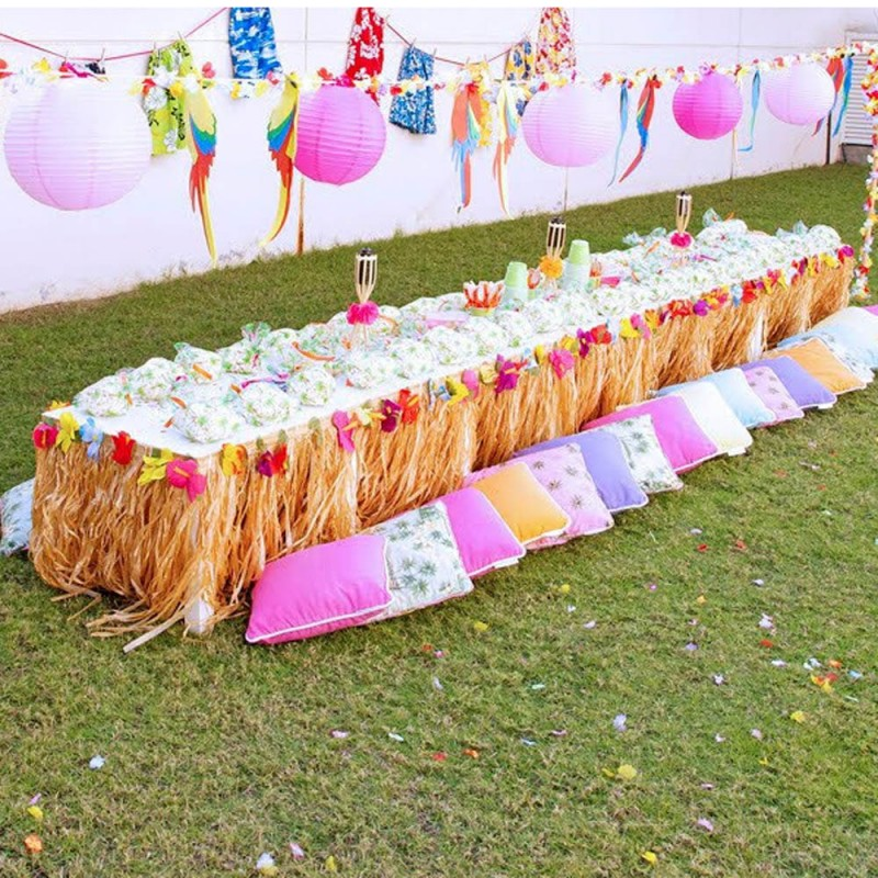 Hawaiian Luau Birthday Party Printables Collection