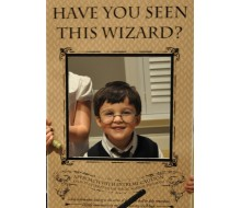 "Magic Wizard ""Have You Seen This Wizard?"" - Printable Party Sign - Instant Download"
