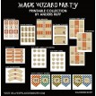 Magic Wizard Birthday Party Printable Collection