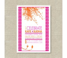 Modern Indian Printable Invitation